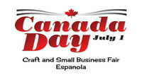 VENDORS WANTED Canada Day Craft/Small Business Fair - Craft Show