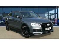 2018 Audi Q3 1.4T FSI Black Edition 5dr S Tronic Petrol Estate Auto Estate Petro