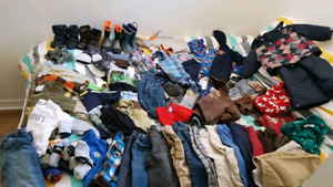 Huge 83 Piece Lot of 18-24 & 2 Boys Clothing