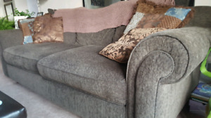 Grey Love Seat Sofa for sale