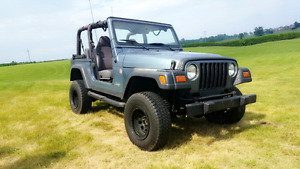 1998 Jeep TJ  4x4-  Automatic  - 4L