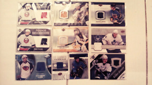 23 hockey jersey cards