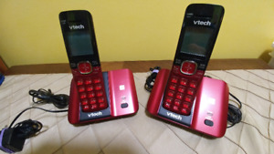 2 Cordless Vtech Phones & LTE Phone Modem