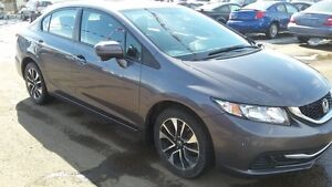 2015 HONDA CIVIC LIKE NEW 90 DAYS NO PAYMENTS FREE WARRANTY