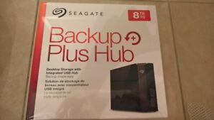 NEW/SEALED Seagate Hub 8TB External HDD