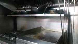 6 burner stove with griddle and 2 ovens in bottom Windsor Region Ontario image 1