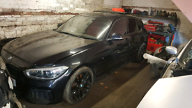 Bmw 135i m performance 2015 breaking unrecorded
