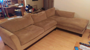 Large La-Z-Boy Sectional Couch $700