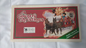 A Country Christmas Cassette Tape Set - 1993