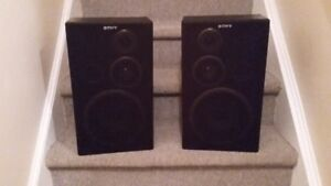 SONY SS-D117 Bookshelf Speakers