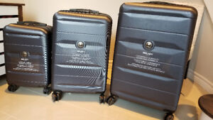 Brand New DELSEY Comete Spinner 3 Pc Set Luggage