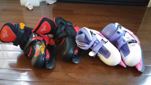 Skates (size Y 12 to 2 and J 12 to 2 1/2) adjustable