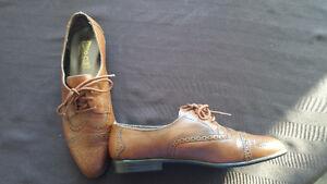Women Size 7.5 Brown Dress Shoes
