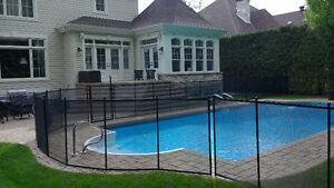 REMOVABLE POOL FENCE IN MUSKOKA : Child safe fence