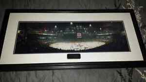 Framed Toronto Maple Leafs Last Game Picture