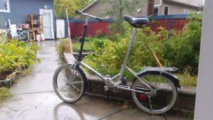 Dahon RV Mate lll, 3 speeds folding bike