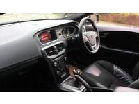 2017 Volvo V40 D3 (4 Cyl 150) R DESIGN Nav Pl Manual Diesel Hatchback