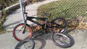 Bmx used with extra tire and rims