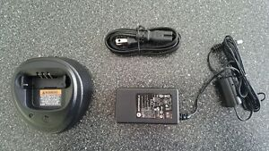 "Motorola WPLN4137BR Charger and EPNN9288A Adapter ""NEW"""