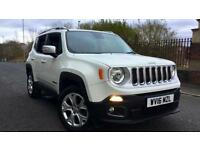 2016 Jeep Renegade 1.4 Multiair Limited 5dr 4WD Automatic Petrol Hatchback