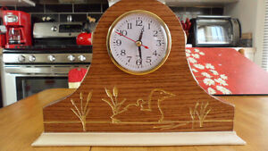 Loon Mantel Clock