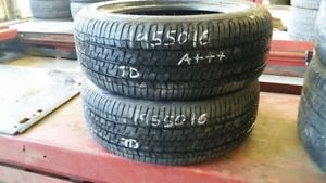 Pair of 2 Firestone Champion Fuel Fighter 195/50R16 tires (95% t