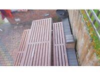 Garden/ pub bench heavy duty £150
