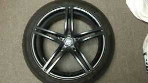 MSR Twin Spoke Wheels w/Pirelli Run Flats Cambridge Kitchener Area image 3
