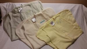 7 Baby HALO SleepSack Wearable Blankets, Size Small