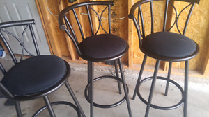 3 Bar Stools for $35