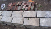 FREE Landscaping Bricks (Come and get them before next TUE!)