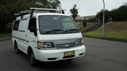 Ford Econovan Maxi - 2001 - 140000kms - Solar Panel - Equipped
