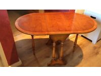 Attractive Small Gate Leg Coffee Table