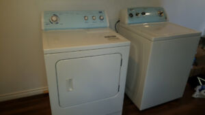 Whirlpool washer and Inglis dryer