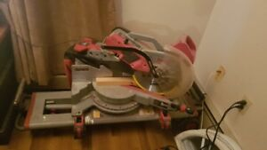 Milwaukee compound mitre saw with stand 12 inch