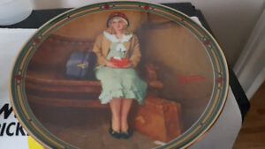 Norman Rockwell collector plate A Young Girl's Dream Port Perry