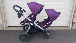 *REDUCED* City select double stroller Amethyst