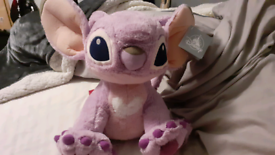 Large Purple Disney Stitch Plush