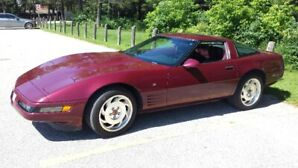 1993 40th Anniversary Corvette Coupe