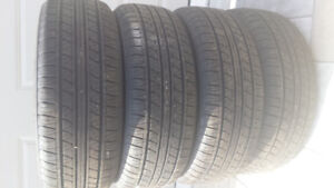 4/ WINTER TOYOTA TIRES, 205/55/16 IN VERY GOOD SHAPE