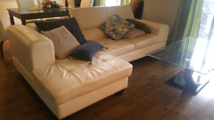 Leather STRUCTUBE Couch - Benjamin