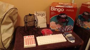Jeu de Bingo Vintage (1980)