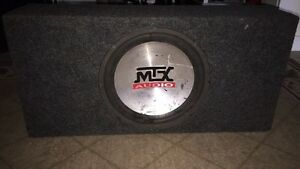 MTX Subwoofer & Amp Package