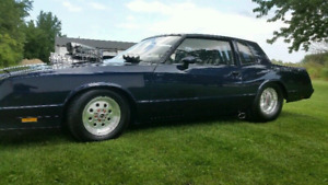 1984 Pro Street Monte Carlo SS mint condition (ROLLING CHASSIS)