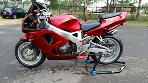 KIT FAIRINGS HONDA CBR900 RR 1994 À 1997 CANDY RED TOUT NEUF !!!