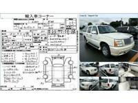 FRESH IMPORT 2008 CADILLAC ESCALADE ESV LONG WHEEL BASE 4WD 6.0 PETROL BLACK LHD