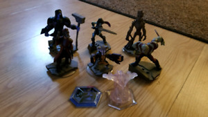 Disney Infinity Guardians of the Galaxy figures & playsets