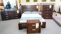 Complete Bedroom sets - peices staring at $197