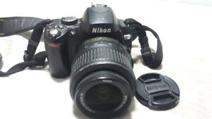Nikon D60 DSLR Camera with a 18-55 mm lens amazing deal
