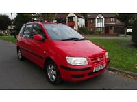 HYUNDAI MATRIX GSI - NEW BATTERY 2004 Manual 80000 Petrol Red Petrol Manual